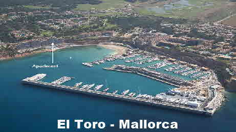 El Toro / Port Adriano. Waterfront Apartment for Rent with Superb Views