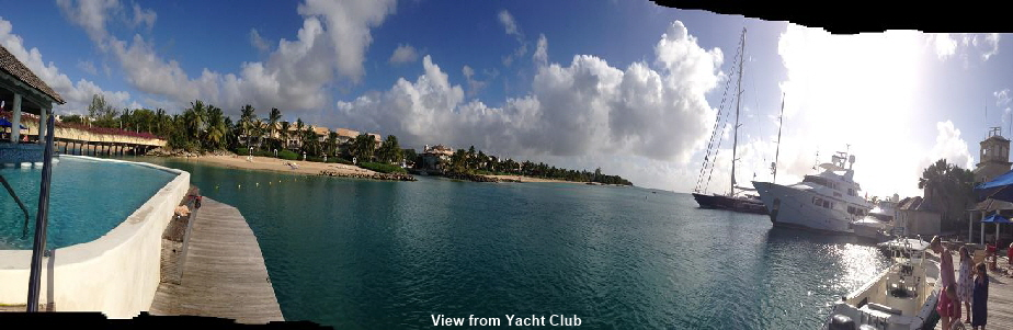 View from Yacht Cllub